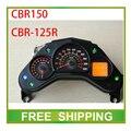 Изменение CBR150 CBR125R 125cc 150cc улице велосипед, мотоцикл пробега спидометр led LCD спидометр метр инструмент Бесплатная Доставка