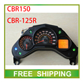 modified CBR150 CBR125R 125cc 150cc street bike motorcycle odometer speedometer led LCD speedo meter instrument  Free Shipping