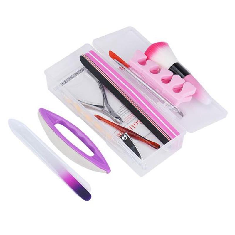 Low Price Acrylic Nail Brush 3d Nailart Tips Liquid Buffer Glitter