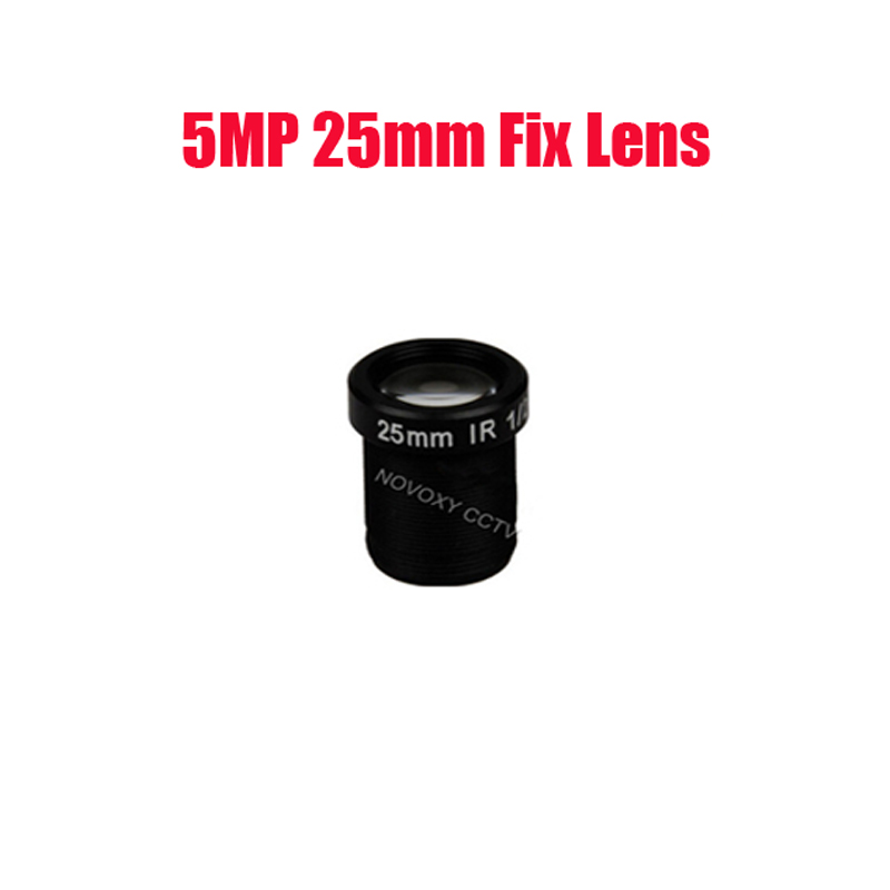 DIY 25mm 5MP HD 1/2 Inch CCTV Lens  M12 Interface Mount For CCTV Analog / IP Camera Free Shipping qhy5p ii c 5 0 megapixels 1 2 5 inch cmos camera with free a 8mm cctv lens