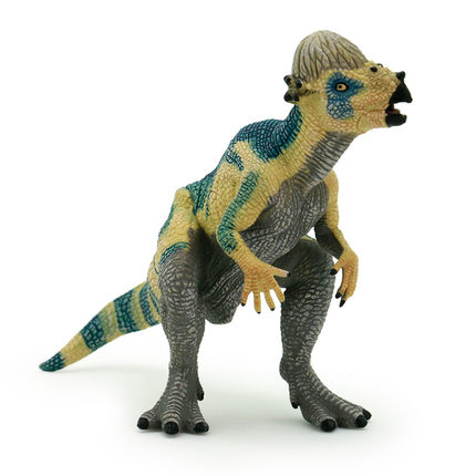 Papo Pachycephalosaurus Simulated Dinosaur Model Museum Collection Jurassic World Ancient Creatures Children's Toys ancient world world history
