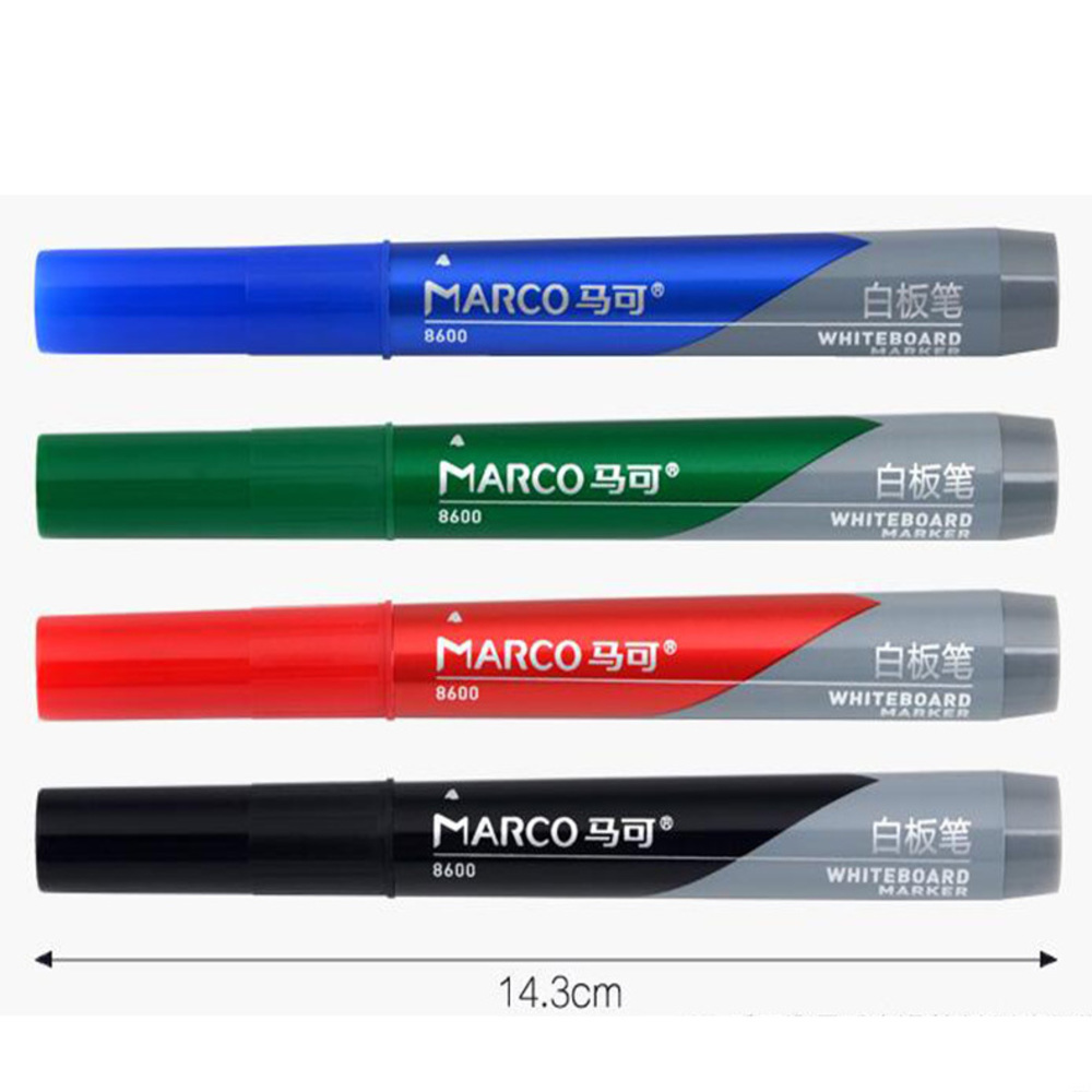 10 Pcsb Water-based Whiteboard Markers Pen Office Can Wipe Children's Drawing Board Black Red Blue Green  ink liquid chalk /Z029