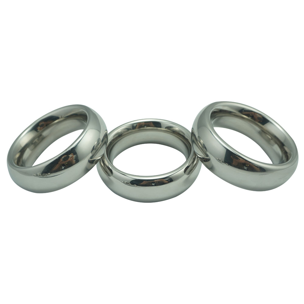 40/45/50mm for choose Donut Metal Stainless Steel cock Rings Male Delay Ejaculation Hard Prevent Impotence Penis Lock Sex Toys40/45/50mm for choose Donut Metal Stainless Steel cock Rings Male Delay Ejaculation Hard Prevent Impotence Penis Lock Sex Toys
