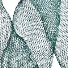 1 piece 1.2m / 1.5m Small Fishing Tackle Mesh Bag Fish Bag Care Landing Fishing Net Green Color Hot Sale