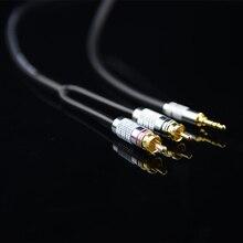 Monsterprolink Standaard 100 Audio Kabel Stereo 3.5Mm Naar 2 Rca Y kabel Voor MP3 Cd Dvd Tv, audiophile Kabel Gratis Verzending