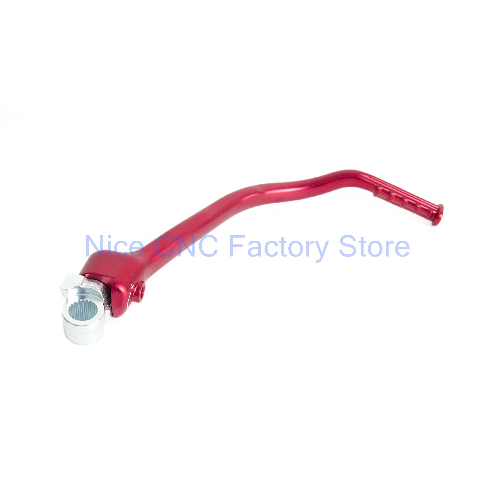 ФОТО Anodized Red Forged Kick Start Lever for Honda CRF250R 2012 - 2016 2013 2014 2015 CRF250 R CRF 250R NEW