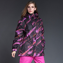 Free shipping most chaquetas snowboarding women waterproof ski jacket warm winter women's snowboard jackets and coats