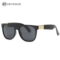 AEVOGUE Polarized Sunglasses Men Newest Original Brand Designer Acetate Frame Sun Glasses Coating Lens With Box