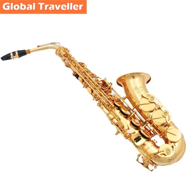 Bastet copy Selmer 802 design Eb Alto Sax Alto Saxophone E flat Sax Woodwind instruments Classical Jazz Blues Pop style alto sax saxophone eb wind instrument sax saxophone alto western instruments saxofone musical instruments saxophone