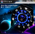 Free shipping wholesale  New arrive 30M waterproof colorful LED lights TVG Watch