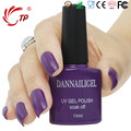 Dannail Gel #55  Dannail Dark Purple 10ml Long Lasting Soak Off UV Gel Nail Polish Nail Art UV Manicure Cosmetic Blink Gel