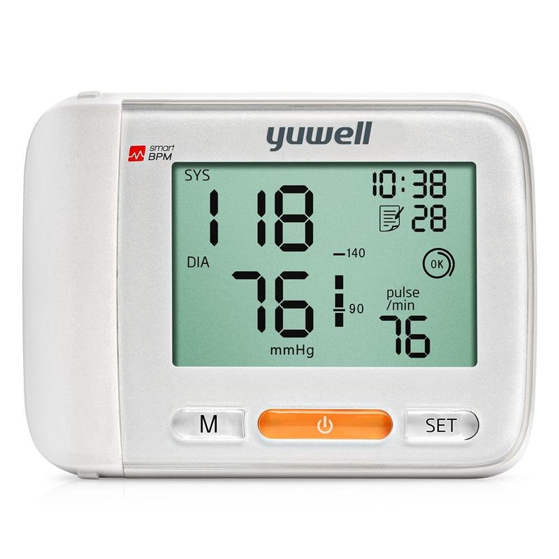 yuwell YE8600A blood pressure monitor watch automatic sphygmomanometer tensiometro digital wrist blood pressure meter tonometer
