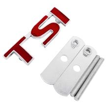 TSI Car Front Grille Emblem For vw Volkswagen Polo Golf 5 7 Tiguan Passat b5 b6 Jetta Bora Touareg Vento Auto Sticker Styling недорого