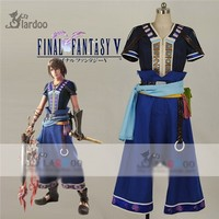 Hot Game Anime Movie FINAL FANTASY XIII 2 Noel Kreiss Cosplay Costume Blue Uniform Clothing Full Set
