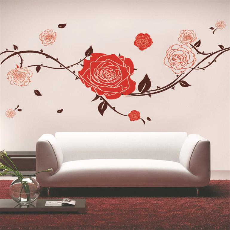 Diseos De Flores Para Pared Decoracin Diseo Arte Para Pared Flores