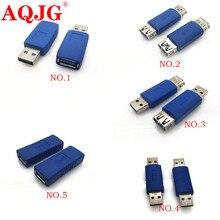 USB A Femmina a Femmina Adattatore di Estensione del Convertitore USB 3.0 AF AF Connettore Spine Spine Del Connettore Usb 3.0 maschio a maschio
