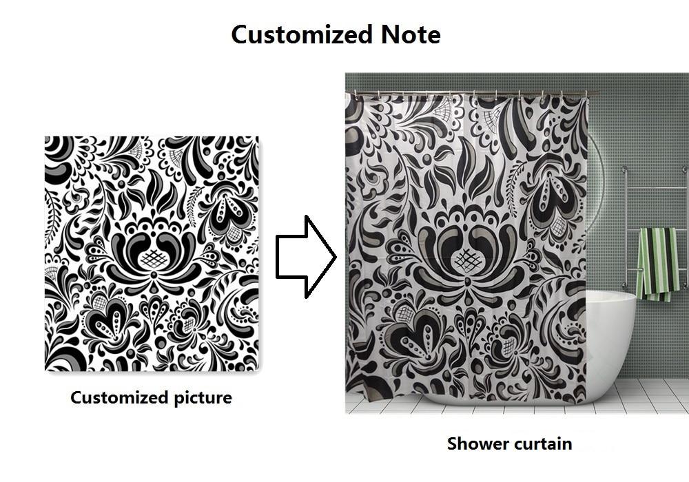 chuveiro decoração com ganchos à prova dwaterproof água