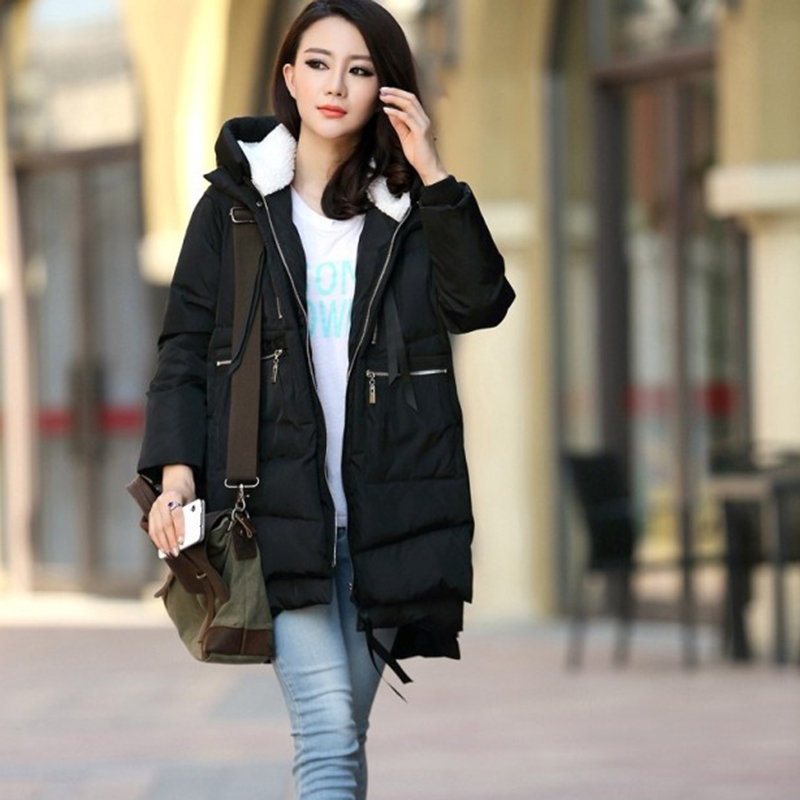 Fashion Women Fashion: 2015 New Winter Jacket Europe Style Women Fashion Loose