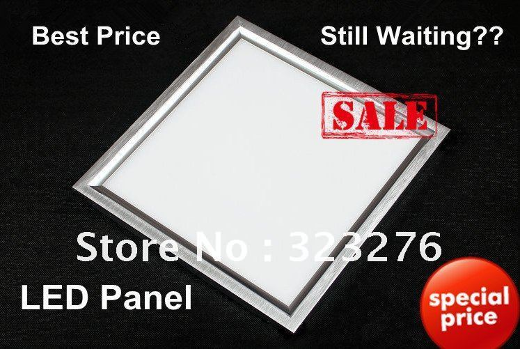 2pcs 20W 300x300 LED panel light.super bright and free shipping  2 years warranty with transformer