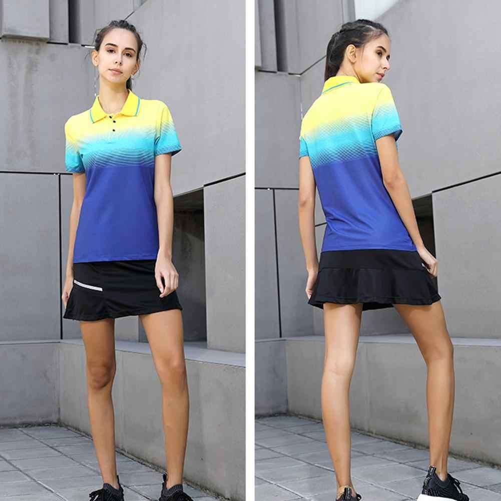 Для ракеток для бадминтона и тенниса, Униформа, спортивный топ, теннисная футболка, мужские и женские топы