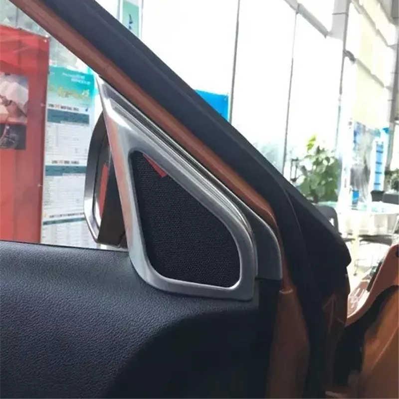 Dla 2015 2016 Suzuki Vitara Escudo ABS Chrome wnętrze drzwi Stereo głośnik pokrywa tapicerka Auto części akcesoria do wnętrz