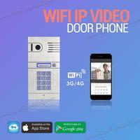 Беспроводной Wi Fi ip видео домофон Камера Дверные звонки смартфон Дистанционное управление IP Smart Дверные звонки через iso Andrio системы Планшеты