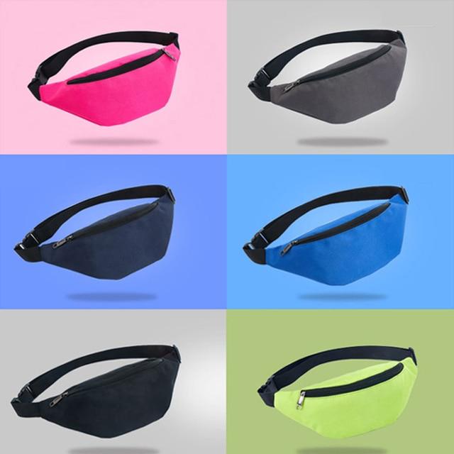 Waist Bag Belt Fanny Pack Waterproof Chest Female Handbag Unisex  1
