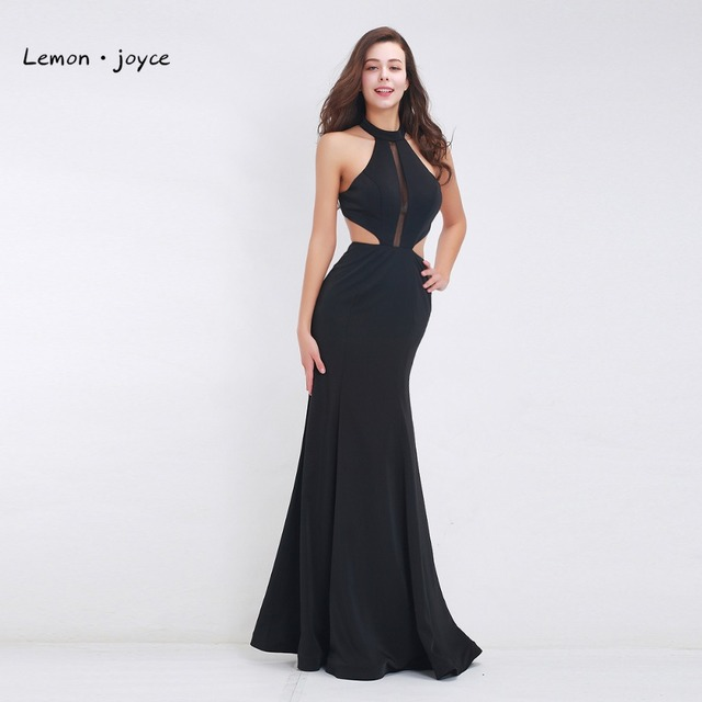 e40c6c904f9e Black Sexy Evening Dresses for Ladies 2019 New Arrival Backless Long Women  Gowns Summer Style Special Occasion Dresses