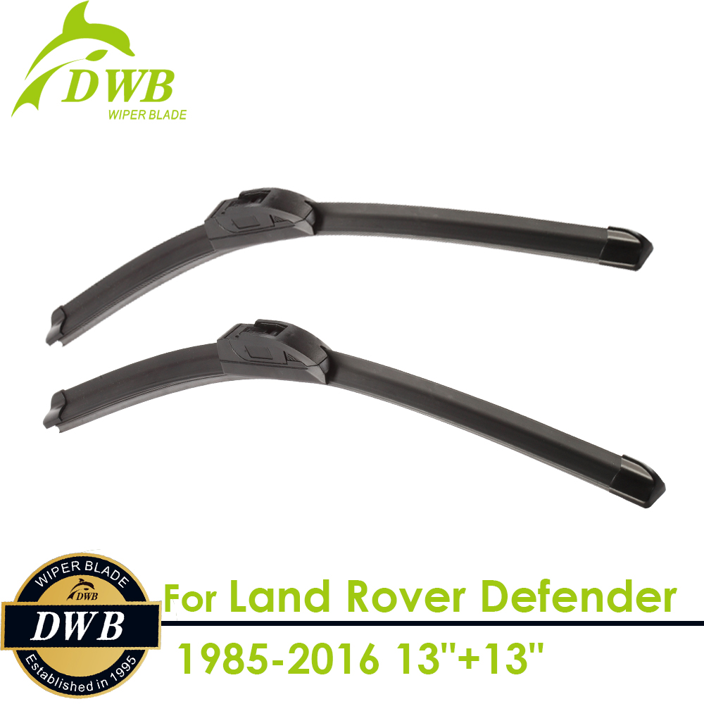 Wiper Blades for Land Rover Defender 1985-2016 13+13, 2pcs free shipping, Windshield Wipers Replacement