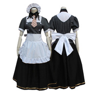 Lovelive Minami Kotori Maid Uniform Cosplay Costume Love Live Coffee House Labour Suit Full Set