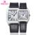 KEZZI Marca de Moda Relógios Das Mulheres Dos Homens de Couro relógios de Pulso de Quartzo Relogios Femininos Display Analógico Quartz Relógio Casual K-1052