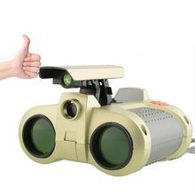 Mount Chain охотничий 4X30 Мини Портативный охотничий бинокль-игрушка с всплывающим ночным видением для путешествий на открытом воздухе детский игрушечный телескоп