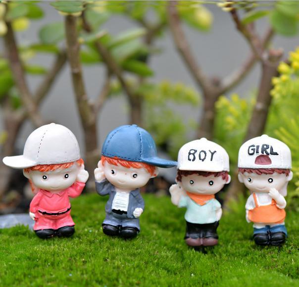 Home Micro Landscape Decorations DIY Doll House Baseball cap teenager Crafts Fairy Garden Miniatures Terrariums Succulents