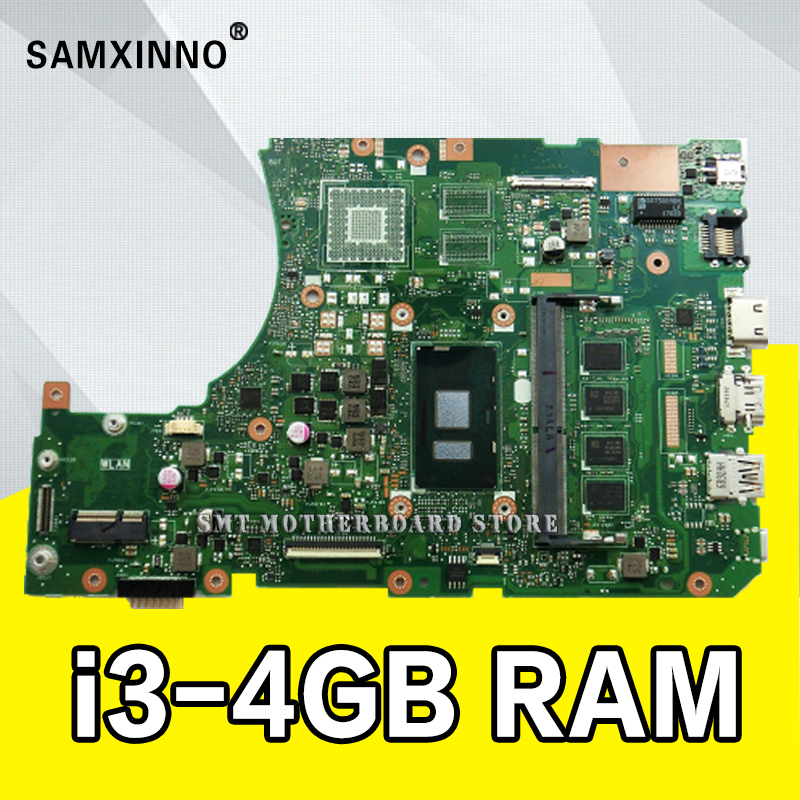 X556UAK XB._4GB/I3-CPU/AS Motherboard for <font><b>ASUS</b></font> For <font><b>ASUS</b></font> <font><b>X556UA</b></font> X556UJ X556UV laptop GM Motherboard 90NB09S0-R00050 Mainboard image