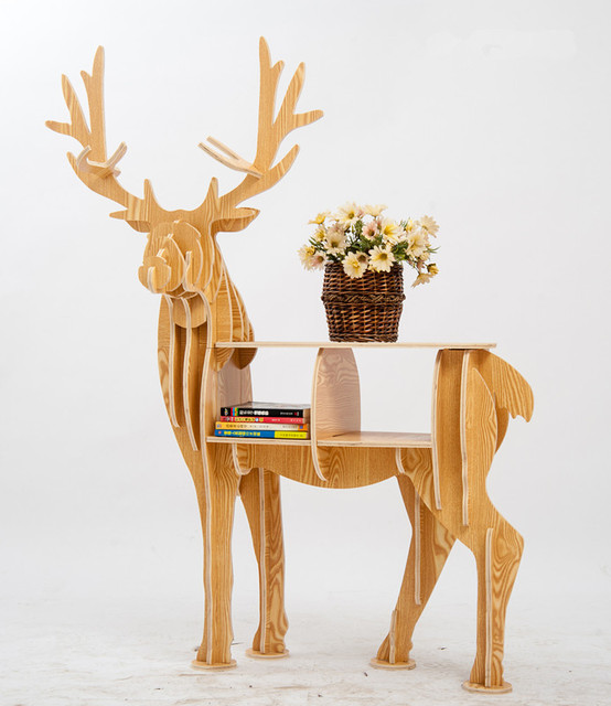 Compact Cabin Buck Book Rack  6
