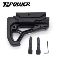 XPOWER FAB Stock GL CORE Style For Gel Blaster Paintball Airsoft Accessories AEG Gen9 Gearbox Receiver Hunting