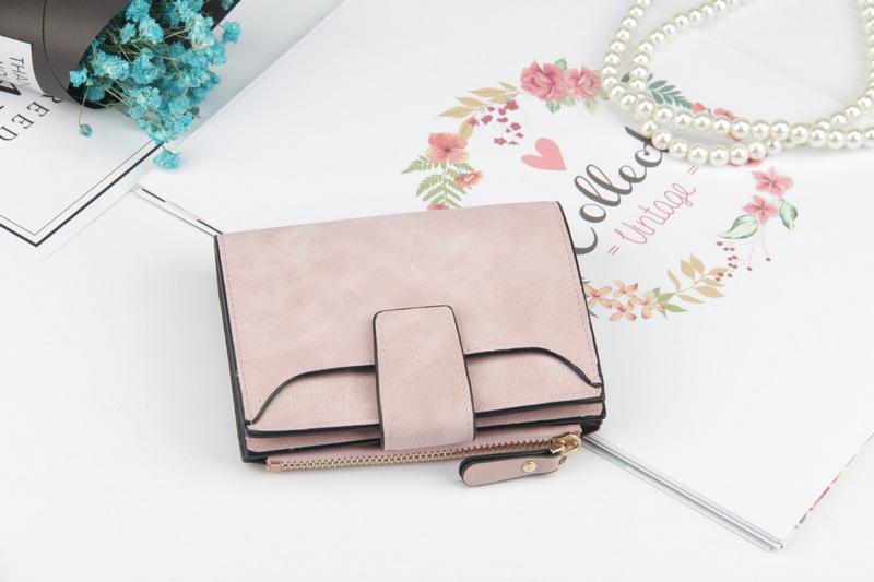 Основной материал:: ПУ; фиолетовый кошелек; Стиль: Стиль: Мода; портмоне для женщин;