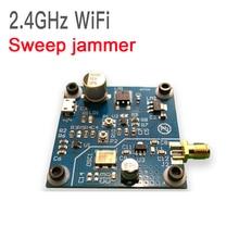 DYKB 2.4GHZ WiFi swept jammer Shield 2.4G WiFi jammer development board Distance 5 ~ 10 meters