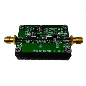 Image 1 - 2 700M 3W HF FM VHF UHF FM verici geniş bant RF güç amplifikatörü kısa dalga amplifikatör