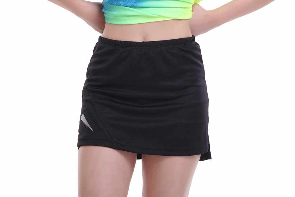 2019 Sport tenis yoga Skorts Fitness krótka spódniczka do badmintona oddychające szybkoschnący kobiety Sport stół do tenisa stołowego tenis spódnice