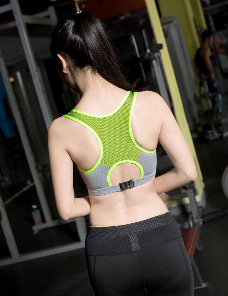 Women Sports Bra For Running Gym Yoga Cotton Padded FULL CUP X Summer Vest Set Wirefree