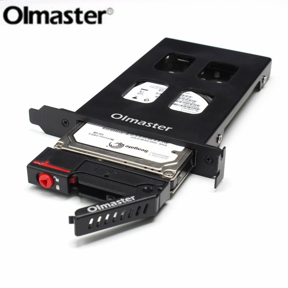 Olmaster Metal Structure HDD Case HDD Enclosure Tool Hard Drive Enclosure 6Gbps For 7 ~ 9.5mm 2.5 Inch SATA SSD Hard Drive