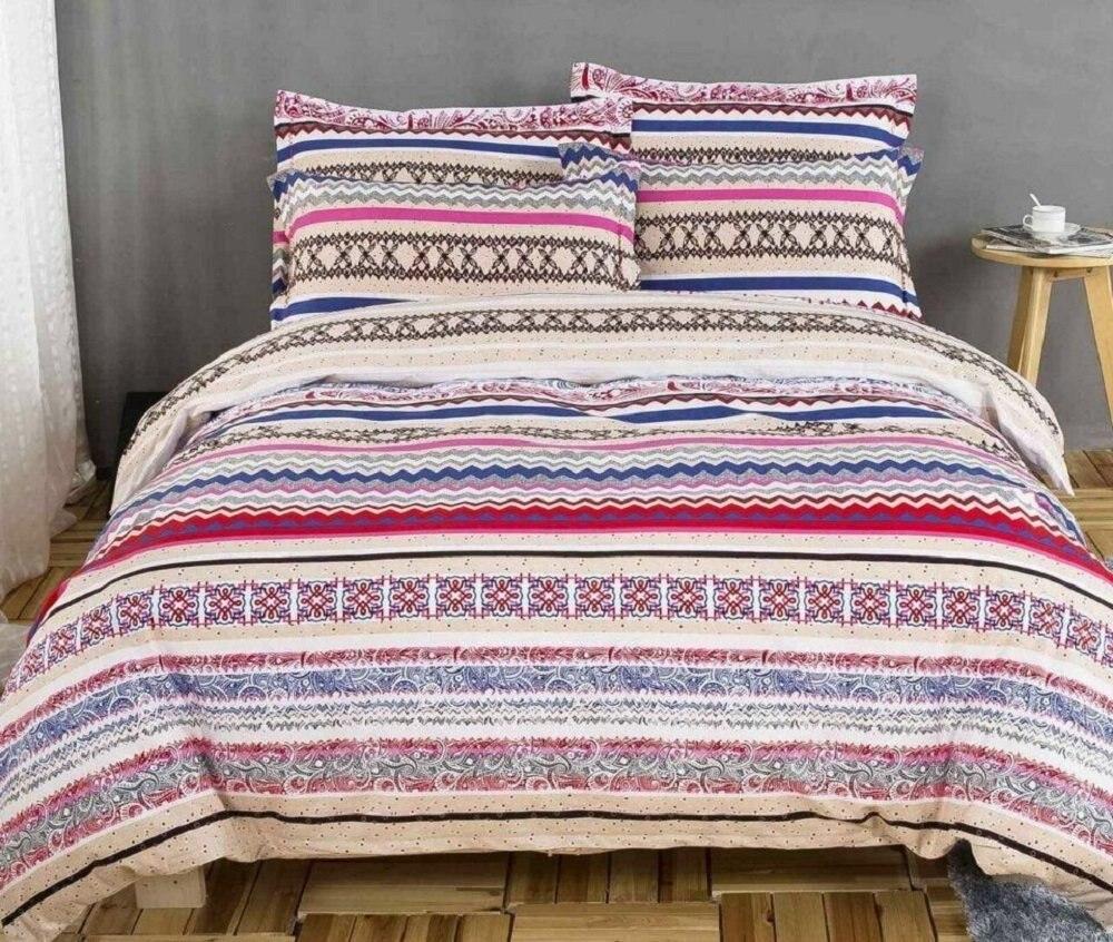 high quality paisley print sheets promotion shop for high quality modern paisley print duvet covers fashion exotic boho bedding elegant striped bed sheet set 4pcs