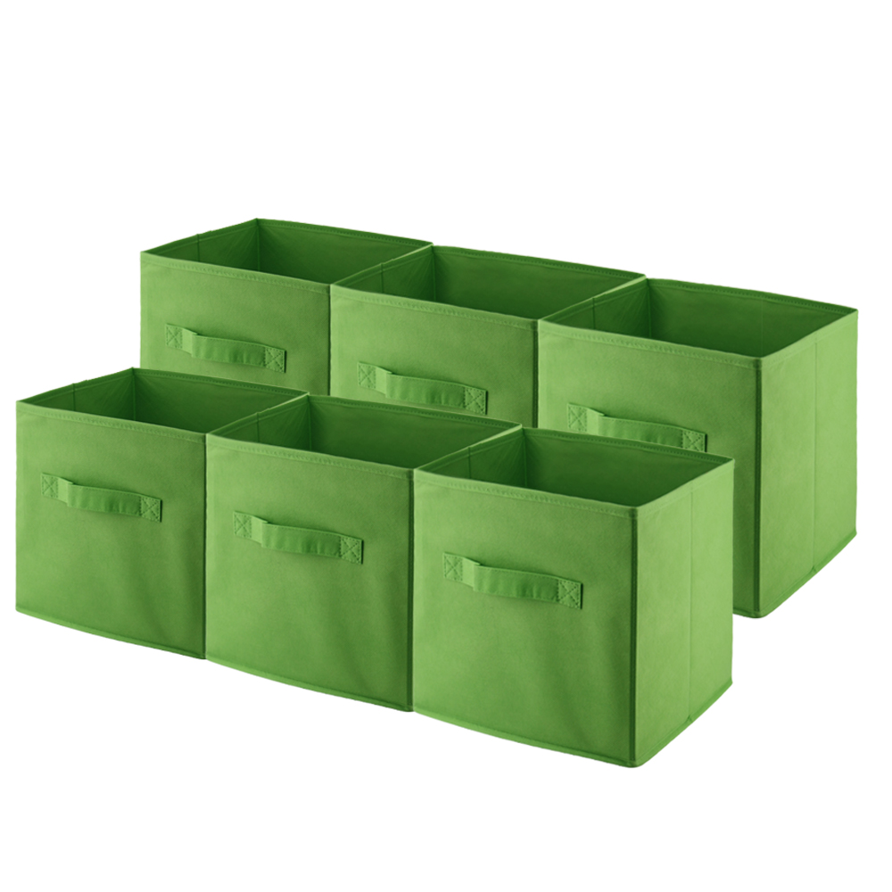6 unids caja de maquillaje caja de almacenamiento para for Cajas de plastico para guardar ropa