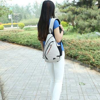 IX Brand Large Capacity Chest Bag Pack Nylon Zipper Women's Messenger Bags Men's School Bag Modern Shoulder Bag Backpack XA260WA 6