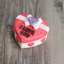 Nicole H0073 Heart Shaped Gift Box Silicone Soap Mold Craft Handmade Making Mould Chocolate Candy Molds