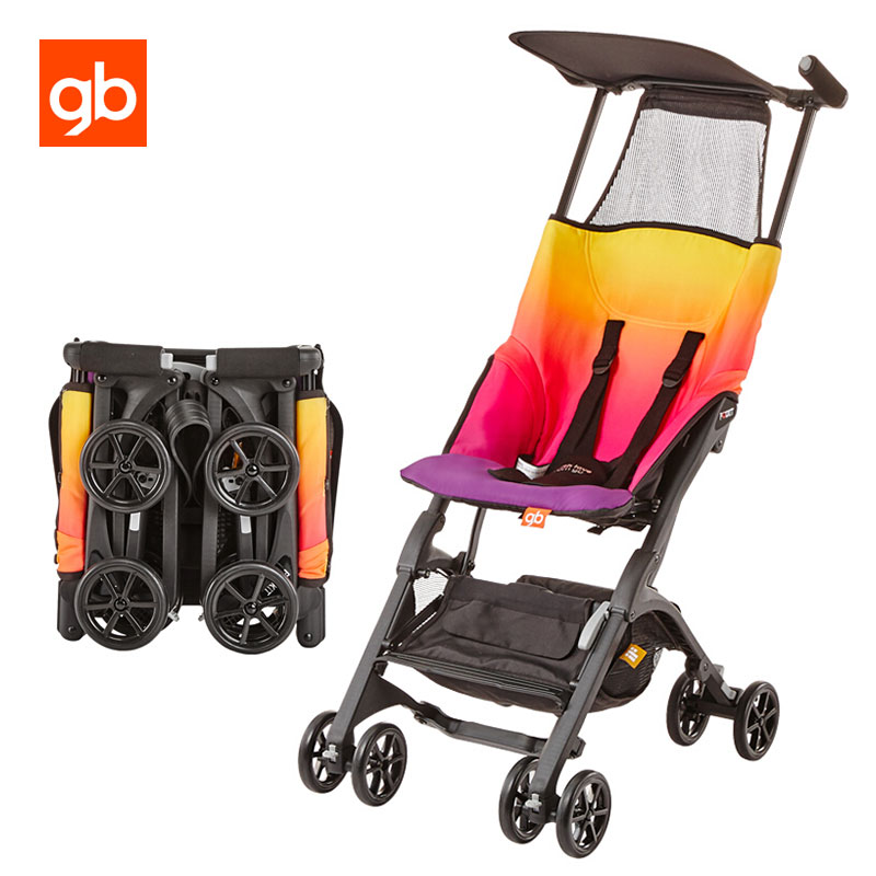 GB Pockit 2 Ultra Compact Baby Stroller Portable ...