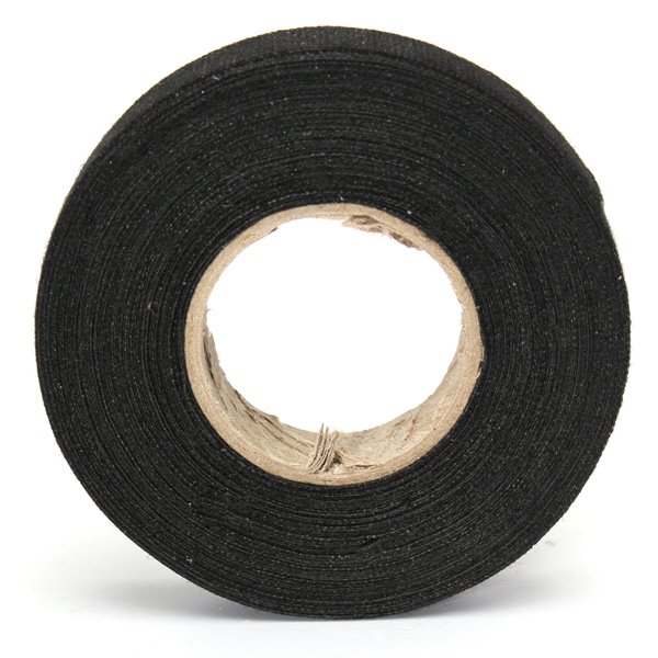 45 N/cm 19mm X 15m Heat Looms Wiring Fabric Tape Cable Temperature Resistant Insulation Materials
