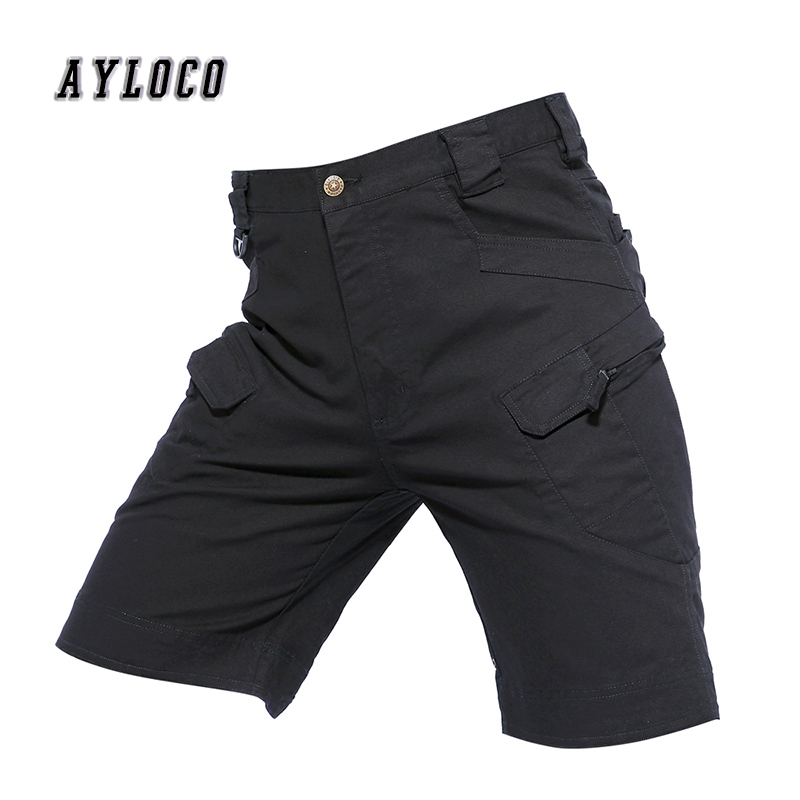 2018 Brand New Army Tactical Shorts Mens Military Cargo Shorts Men Cotton Loose Work Casual Short Pants