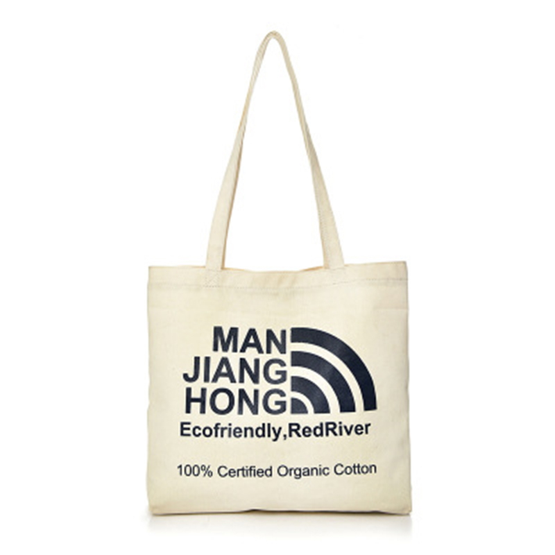Canvas Tote Bag Fashion Women's Handbags Casual Shoulder Bags Environmental Protection Shopping Bag